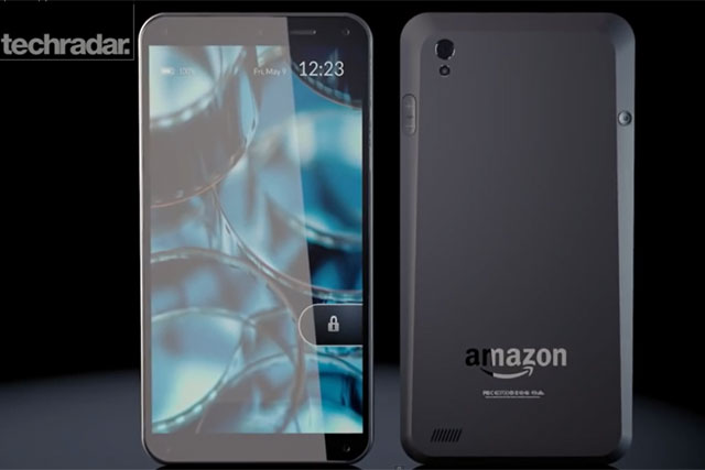 Visionary: TechRadar's mock-up of the rumoured Amazon smartphone