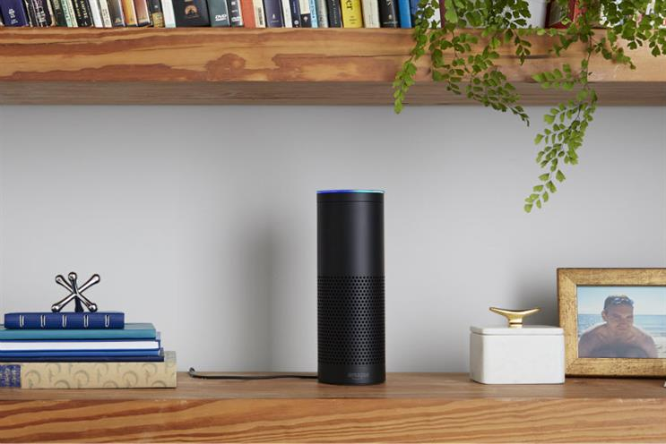 Amazon Echo: the smart speaker runs off voice assistant Alexa to play music or buy groceries on demand