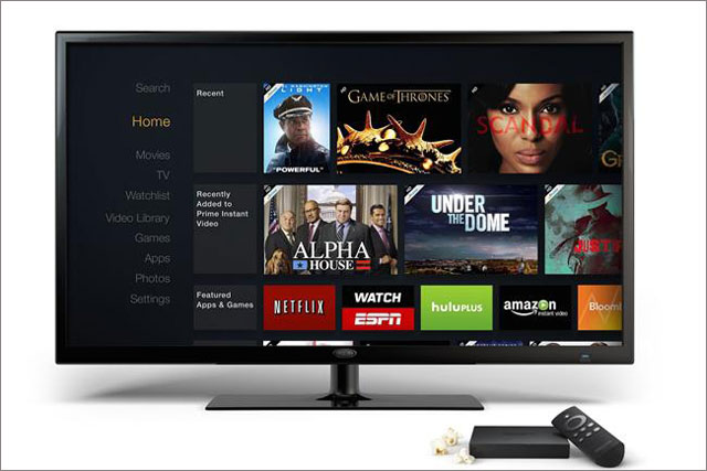 Amazon: unveils its Fire TV set-top box