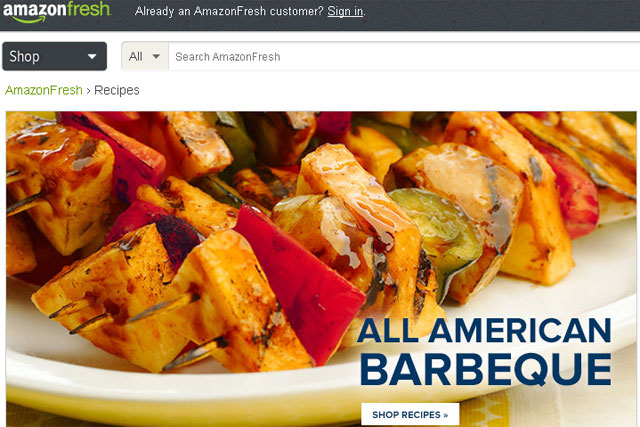 AmazonFresh: UK boss says a national rollout would be implemented swiftly