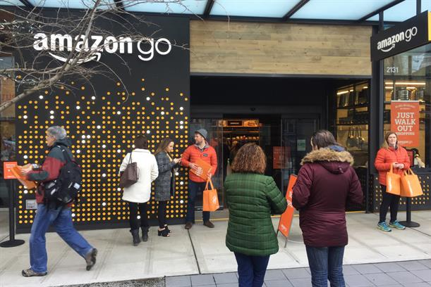 Amazon Go: launched in Seattle this year