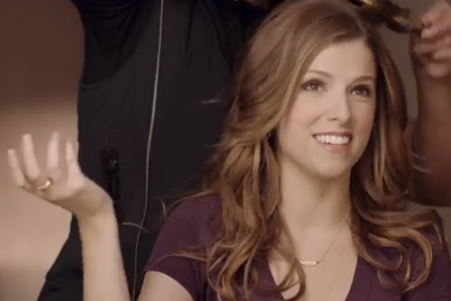 Anna Kendrick: stars in a 'behind the scenes' spoof for the Newcastle Brown Ale campaign