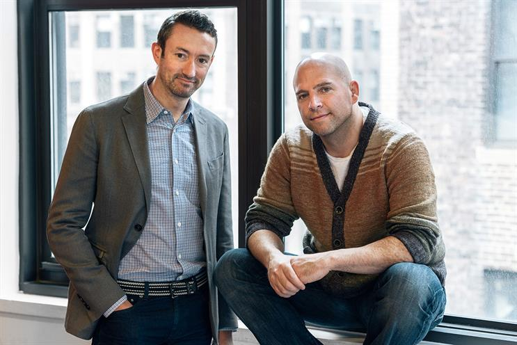 """(l-r) Head and McRoberts...""""appboy data shows that personalised marketing campaigns can increase conversions by 200%"""""""