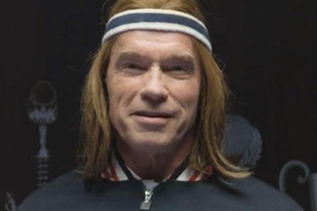 Arnold Schwarzenegger: the bewigged actor stars in Bud Light Super Bowl ad teaser