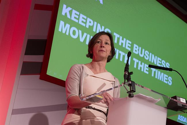 Claire Harrison-Church: vice president for marketing and own brand at Asda
