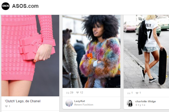 Asos: social commerce isn't a threat