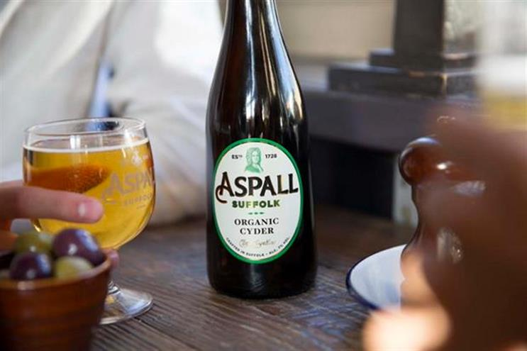 Aspall: hires J. Walter Thompson