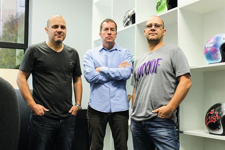 Atomic London: Guy Bradbury, Howard Willmott and Pete Mould