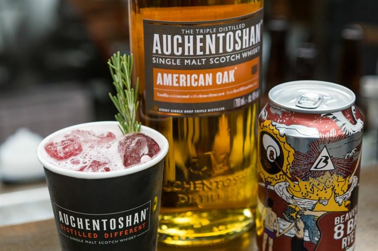 Whisky brand Auchentoshan to activate at Craft Beer Rising