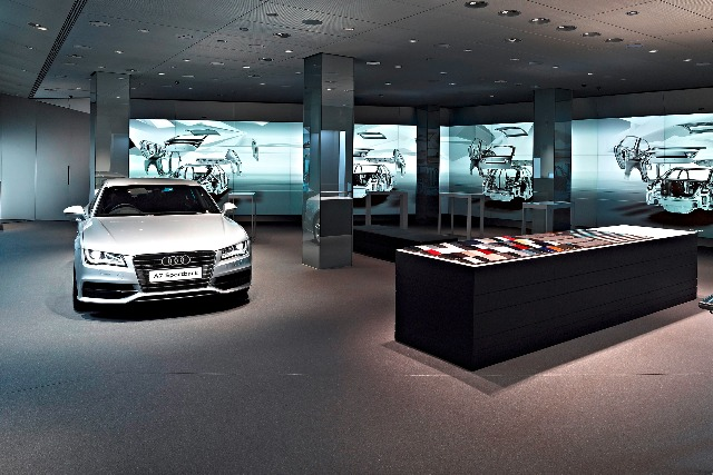 Audi: launching the first digital showroom in London