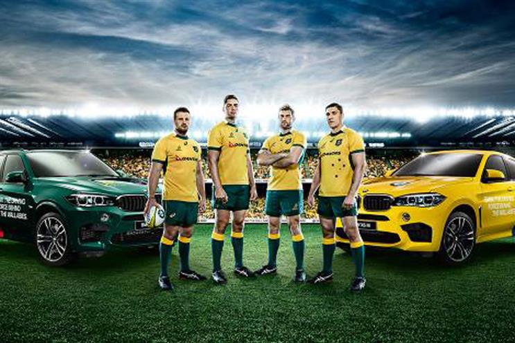 Around the world: advertising the Rugby World Cup in Australia
