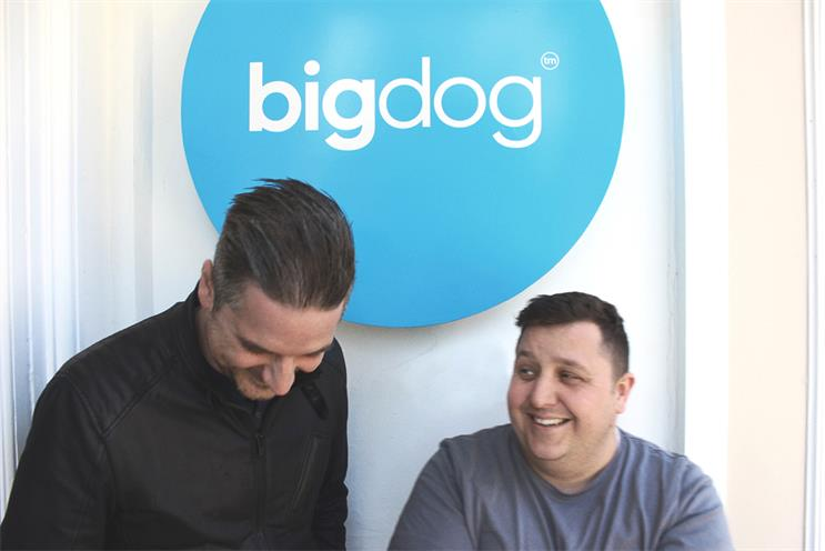Tim Jarvis and Barrie Robinson: the new creative directors at Bigdog
