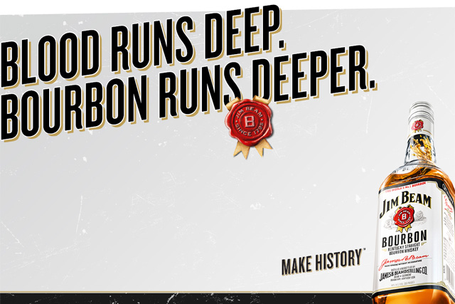Jim Beam tells consumers to 'go make some history' in debut global ...