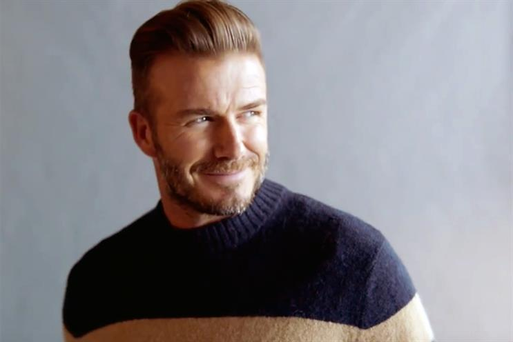 David Beckham: fronts the latest H&M campaign