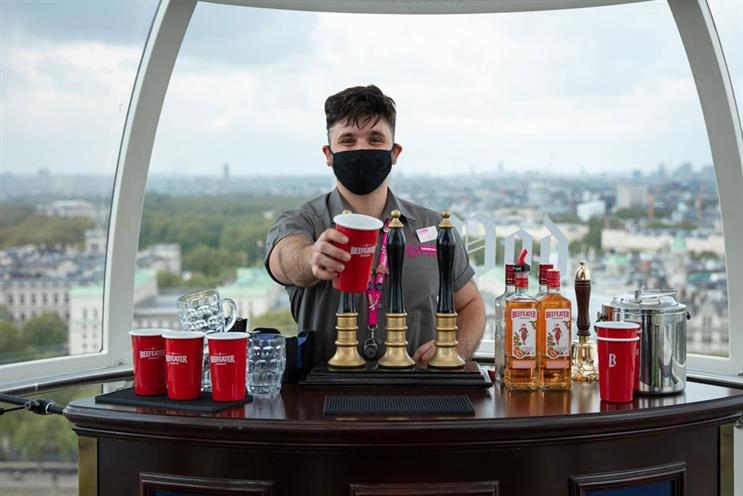 Beefeater: a selection of gins will be available