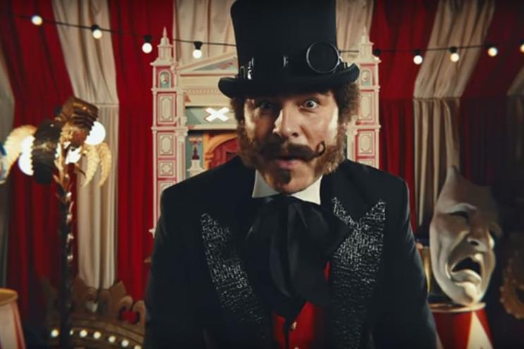 David Walliams: he stars in an ad for BGT
