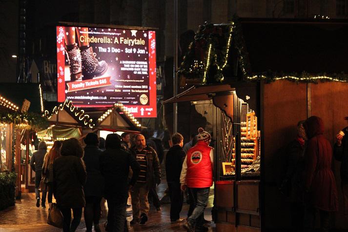 Own festive screens at biggest city hotspots