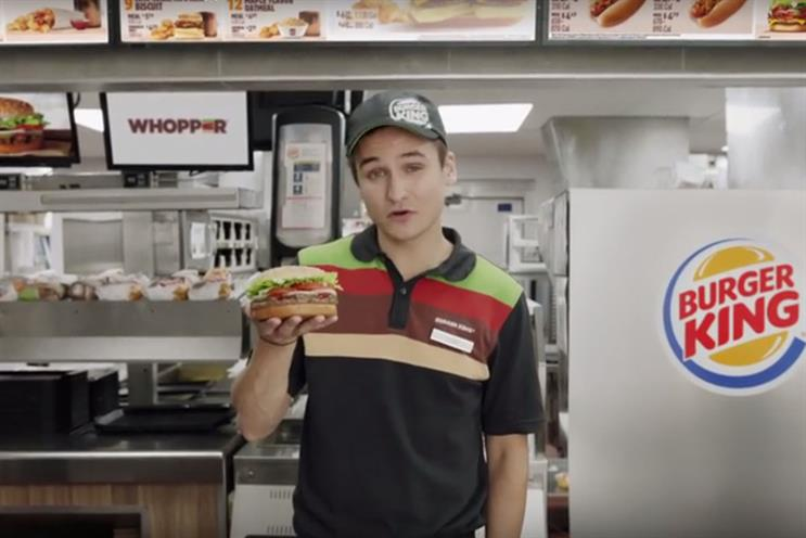 Burger King: now works with 360i Europe
