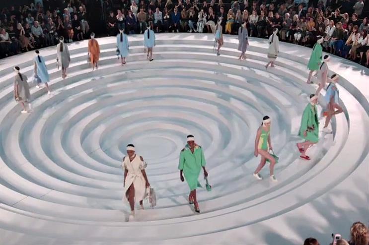 Anya Hindmarch's show at London Fashion Week