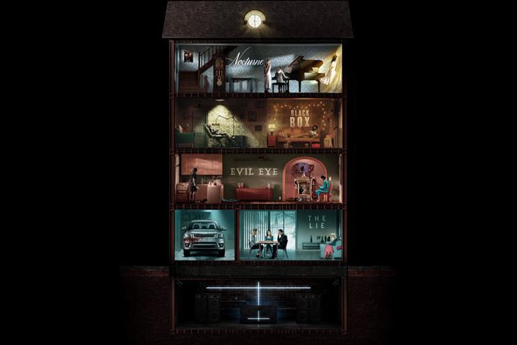 Amazon Studios: guests can explore six floors inside a virtual house