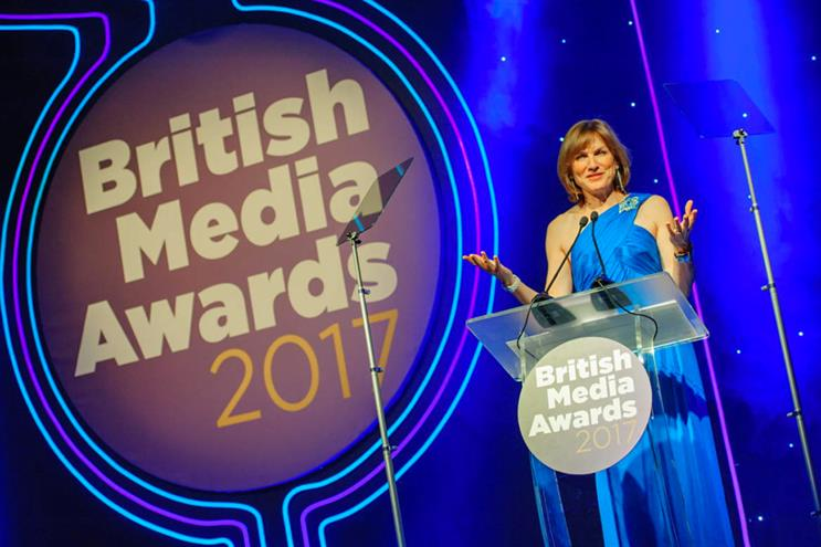 British Media Awards: hosted by BBC presenter Fiona Bruce last year