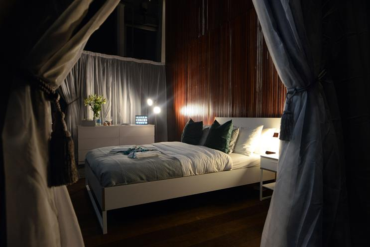Booking.com creates 'Britain's highest bedroom'