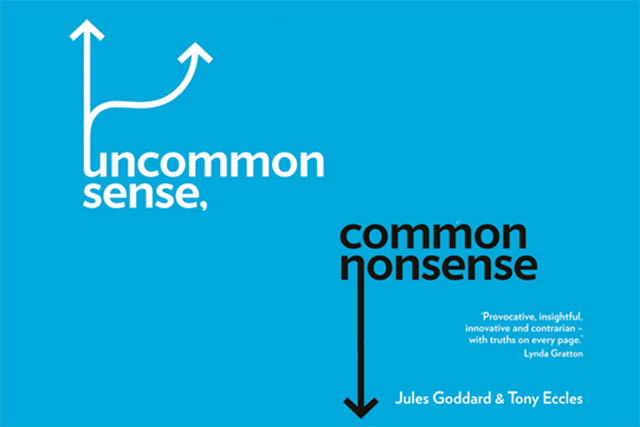 Uncommon Sense, Common Nonsense: the book's message is aim to be different