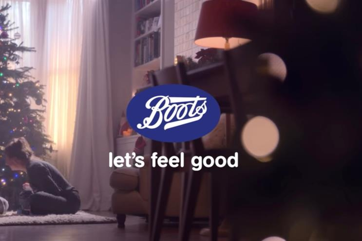 Boots: the retailer's Christmas 2018 campaign