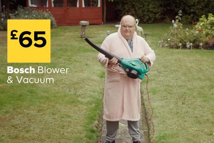 B&Q: released ads last year around 'can-do' attitude