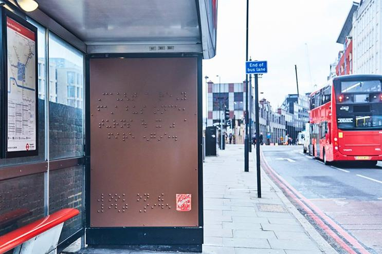 The Braille poster was launched today (Maltesers / Facebook)