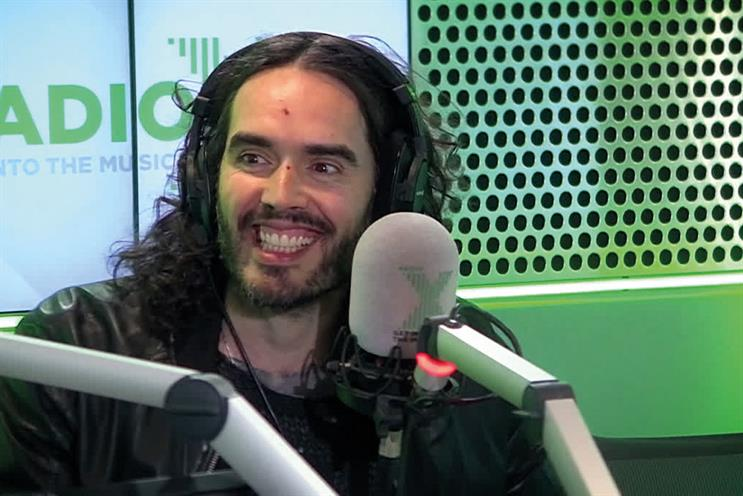 Russell Brand: joins Radio X