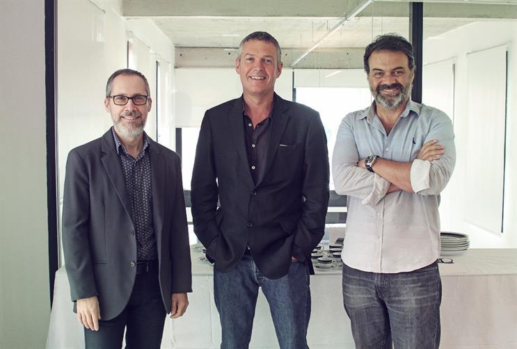Santa Clara: (l-r) Zamboni, MacLennan and Campos