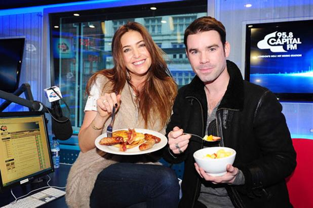 Lisa Snowdon and Dave Berry: Capital FM Breakfast Show hosts