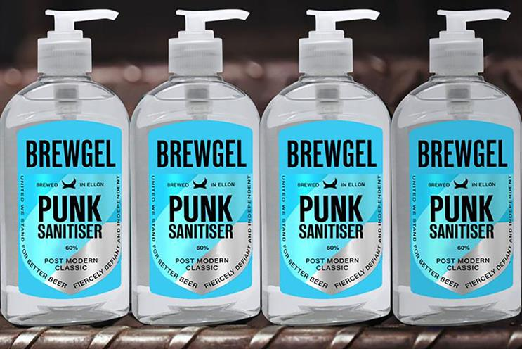 BrewDog: made hand sanitiser during pandemic