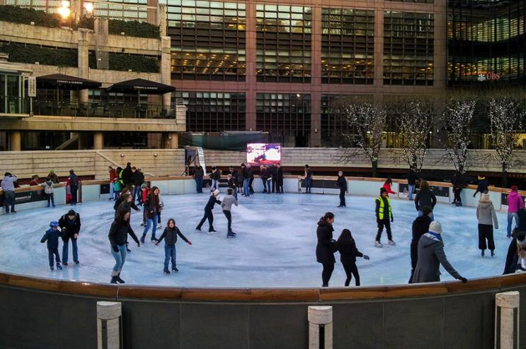 Virgin Active teams with Broadgate ice rink to launch Skatercise fitness classes