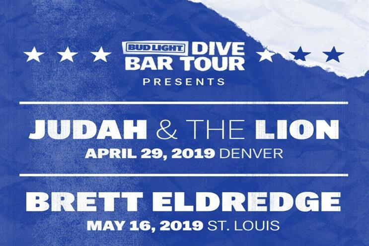 Bud Light: tour kicks off this week