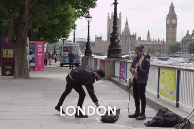 Budweiser: hits the pavements of London in global search for busking talentent