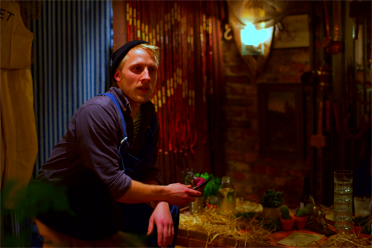 Best burger brand activations: Burger & Lobster created an immersive theatre experience