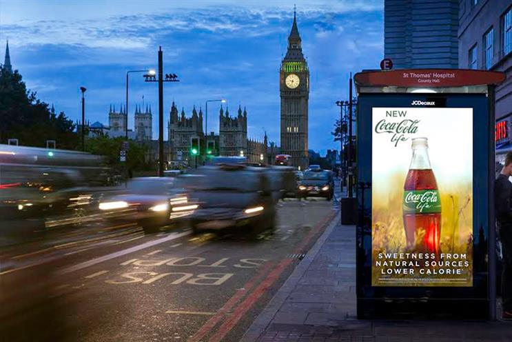 JCDecaux will sell ad space across 4,900 of TfL's bus shelters