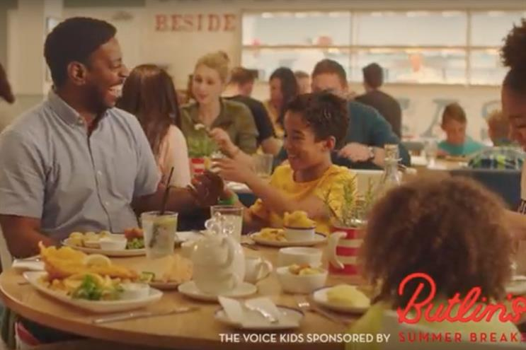 Butlin's: sponsored 'The Voice Kids' on ITV last year