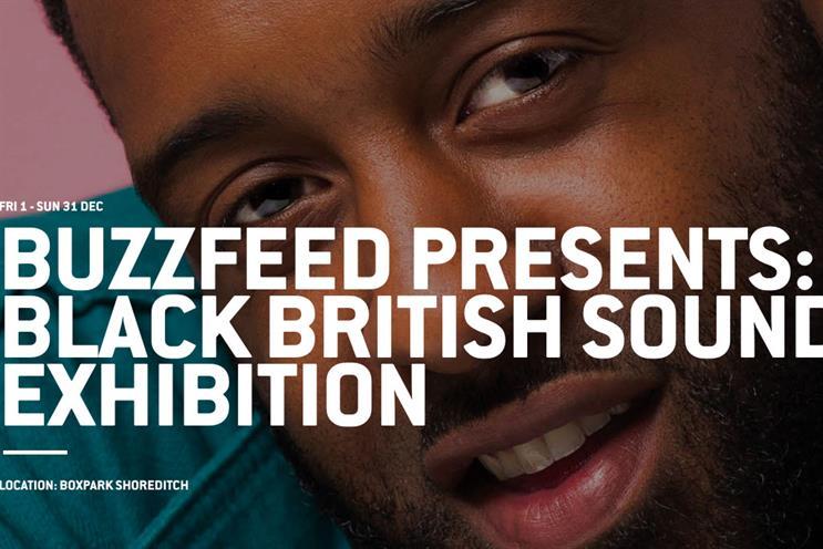 BuzzFeed celebrates black music with exhibition