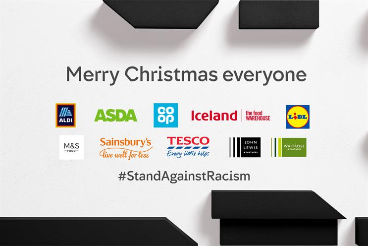 Channel 4: #StandAgainstRacism partnership won Campaign of the Year