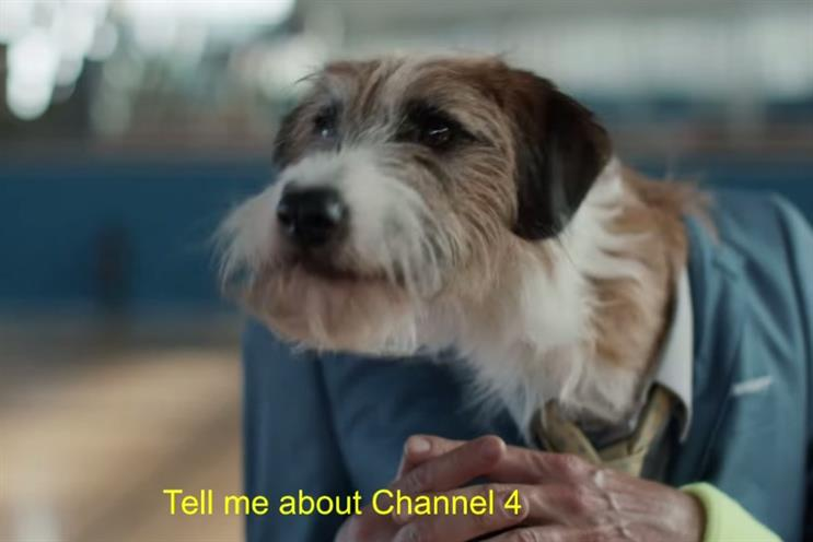 Channel 4: latest campaign highlights the broadcaster's 'risky' approach