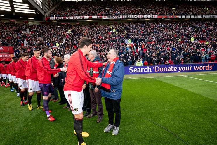 Cadbury And Man Utd Invite Veteran Fans To Old Trafford As Guests Of Honour