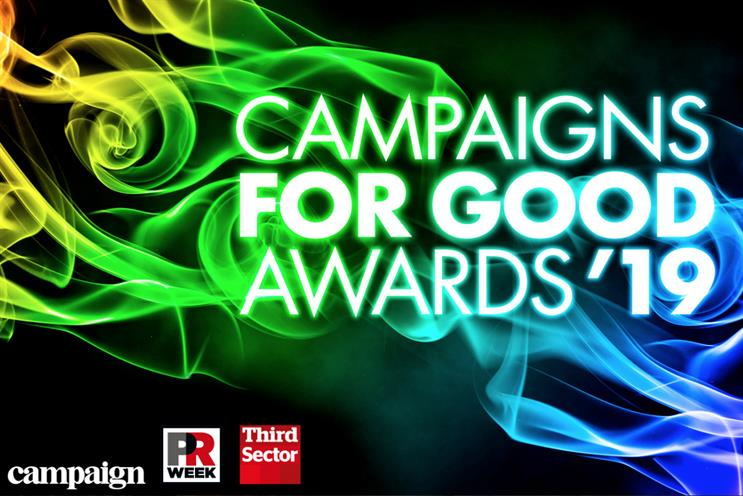 Campaigns for Good Awards 2019: judges confirmed as deadline nears