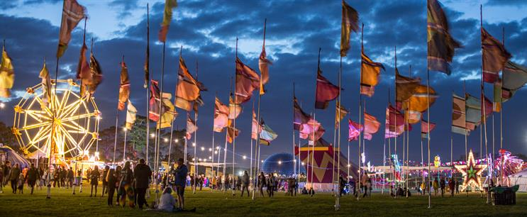 How Hotpoint, BA and Next are targeting the next generation at Camp Bestival