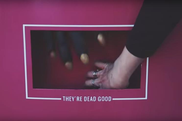 Consumers that go to grab their sweets are in for a spooky surprise (Candy Kittens TV/YouTube)