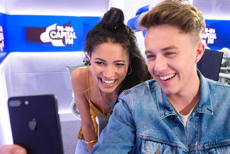 Capital Breakfast Show: hosts Vick Hope and Roman Kemp