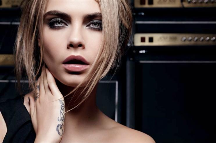 L'Oreal: Cara Delavingne for the beauty brand