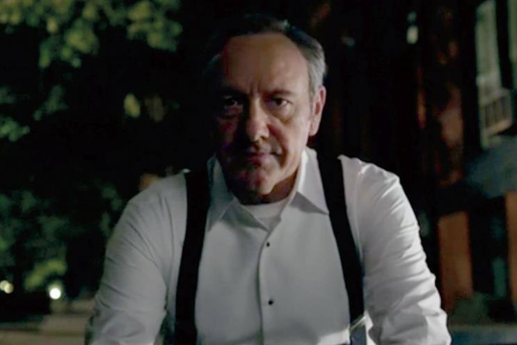 House of Cards: opening scene was 'triumph of creativity over data'